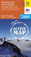 Snowdon ACTIVE Explorer Map - OL 17 - Laminated - *NEW* inc. MOBILE DOWNLOAD