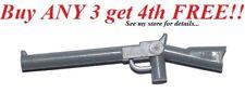 ☀️NEW! Lego Weapon Dark Bluish Gray SHOTGUN GUN Army Police Soldier Rifle