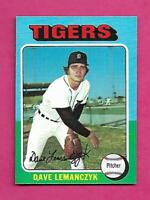 1975 TOPPS # 571 TIGERS DAVE LEMANCZYK  ROOKIE  NRMT-MT  CARD (INV# A9192)