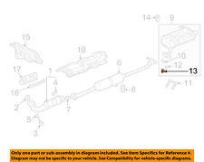 HONDA OEM Exhaust-Muffler Nut 90115659003