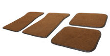 67-69 Camaro Firebird Front & Rear Floor Mats Medium Saddle 80/20 Loop Clearance