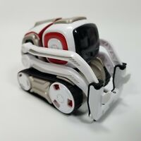AS IS GOT PARTS COZMO By Anki Robot Cosmo Interactive Robot White 000-00048