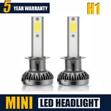 2x H1 LED Headlight Kit Car Beam Fog Bulbs Lamp 6000k 400W 160000LM VS HID Xenon