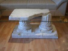 Couchtisch Glastisch Wohnzimmertisch Marmor Griechischer Steintisch 100cmx70cm