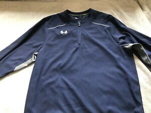 MENS RUNNING TOP FROM UNDER ARMOUR SIZE SMALL IN EXCELLENT CONDITION