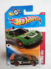 Brand New HotWheels Die-cast 1/64- Green Acura NSX with Gold Rims