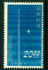 JAPAN  1949 Telecommunications Exhibition STAMP FROM  BLOCK  Sk# C160   MNH /**