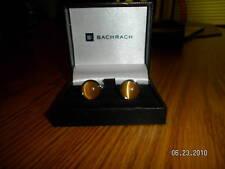 Bachrach Cufflinks Cuff Links Silver Garnet Citrine