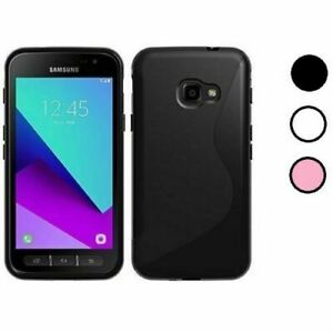 S-Gel Wave Tough Shockproof Phone Case Gel Cover for Samsung Galaxy Xcover 4s