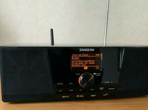 Sangean WFR-1D Plus - Internetradio, DAB+, FM RDS Stereo Radio Empfänger