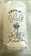 COMMERCIAL 500 PCs Clear 10 LB 8 LB / LBs Plastic Ice Bag Bags Drawstring New