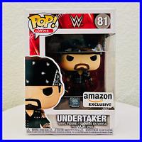 Funko POP! WWE: Boneyard Undertaker Amazon Exclusive #81 + Protector