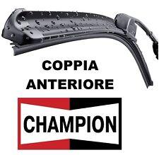 Kit 2 Spazzole tergicristallo CHAMPION AEROV. OPEL CORSA D dal 07/2006 ANTERIORI