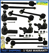 10 Pc Kit Tie Rod End Sway Bar Link Lower Ball Joint Lexus ES300 RX300 97-03