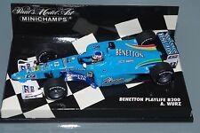 Minichamps F1 1/43 BENETTON PLAYLIFE B200-Alex Wurz
