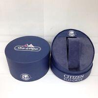 CITIZEN Eco-Drive Original Stars Stripes Watch Box Presentation Storage Case