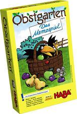 Haba Memospiel Obstgarten ab 3 Jahre Spiel Kinder Memo Spiele