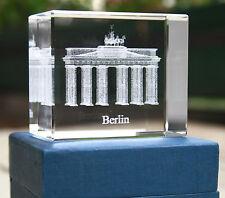 CLARISSO ® BRANDENBURGER TOR m. Schriftzug BERLIN Souvenir 70x60x40 in Schatulle