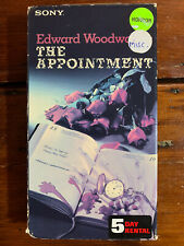 The Appointment Vhs Sony horror Sov Cult Rare Htf Oop Insanity Supernatural Evil