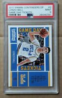 2017 PANINI CONTENDERS LONZO BALL #2 PSA 9 MINT. GAME DAY TICKET Lakers/Pelicans