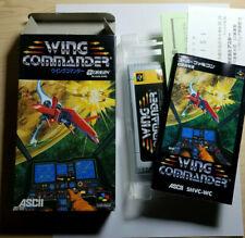 SFC: Wing Commander In Box CIB, Tested! Authentic Super Famicom! USA Seller