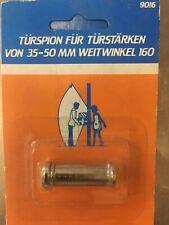 Türspion Spion Sichtschutz Türsicherung 35 - 55 mm Sichtwinkel 160 Weitwinkel