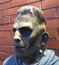 Deluxe Frankenstein Monster Mask Latex Boris Karloff Halloween Horror Cosplay