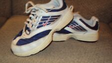 NIKE YOUTH ATHLETIC SHOES-13.5C-WHITE/BLUE/RED-CLEAN-NICE!