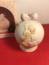 Precious Moments Peace On Earth 1st in Masterpiece Ornament Series 1989 523062