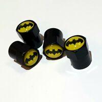 4 Ventilkappen Batman - Performance - Metall - Auto - Schwarz - Staubkappen