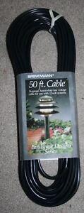 Brinkmann 50 ft foot cable low voltage garden light outdoor 12v 12 volt  new
