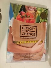 HUNGRY FOR CHANGE - YOUR HEALTH IN YOUR HANDS - DVD - ALL REGIONS - VGC