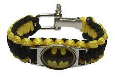 DC Comics BATMAN Paracord Survival Braided Bracelet