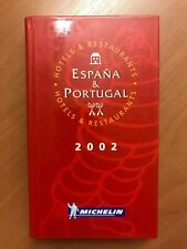 Guide Michelin Espana 2002