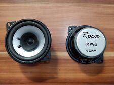 2 x altoparlante casse speaker Ø 100 mm 80W Toyota Aygo Citroen C1 Peugeot 107