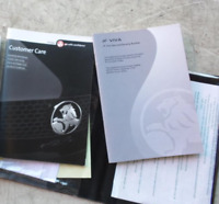 HOLDEN JF VIVA OWNER GENUINE Manual Handbook Original Authentic Warranty Booklet