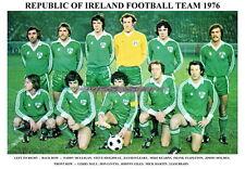 REPUBLIC OF IRELAND TEAM PRINT 1976 (BRADY/STAPLETON/GIVENS/O'LEARY)
