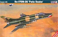 SUKHOI Su-17 UM/Su-22 UM3K (UKRAINIAN, SLOVAK & LUFTWAFFE MKGS) 1/72 MISTERCRAFT