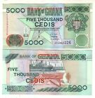Ghana 5.000 5000 cedis 2003 FDS UNC Pick 34i Lotto 2795