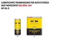 1 LITRO OLIO LUBRIFICANTE TRASMISSIONI AUTO D'EPOCA AGIP NOVECENTO SAE 85W-140