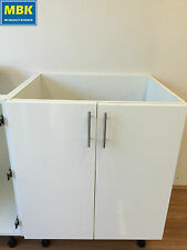 Kitchen or Laundry Cabinet 600mm, Flat pack, Polyurethane Doors $185, Brand New