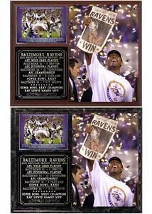 Baltimore Ravens Super Bowl XXXV Champions NFL Photo Plaque Ray Lewis MVP