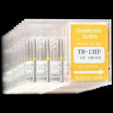 10 Boxes Tr 13ef Mani Dia Burs Fg 16mm Dental High Speed Handpiece Diamond Bur