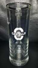 RARE COLLECTABLE CASTELLO LAGER BIRRA 200ML BEER GLASS MUG GREAT USED CONDITION