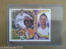 CRISTIANO RONALDO Real Madrid sticker cromo panini LIGA BBVA 2011 2012 Top rare