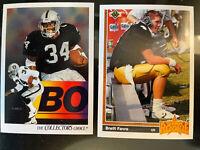 Vintage 1991 UPPER DECK Football Cards Complete Set Brett Farve Rookie