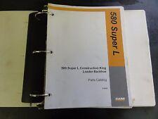 Case 580 Super L Construction King Loader Backhoe Parts Catalog   8-9930
