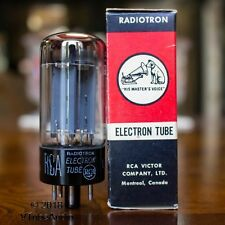"GZ34 Vacuum Tube Mullard f32 4 Notch RCA 5AR4 ""His Master's Voice"" NOS JKPMN"