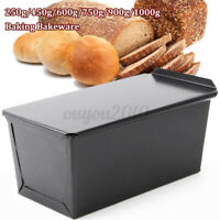 1000g Rectangle Nonstick Box Loaf Tin Kitchen Pastry Bread Cake Baking Bakeware