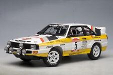1:18 AUTOart 1984 Audi Sport-Quattro Rally San Remo #5 Röhrl neu i. ovp RARITÄT
